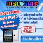 iPad2 für jeden 20.Kunden bei discoSurf